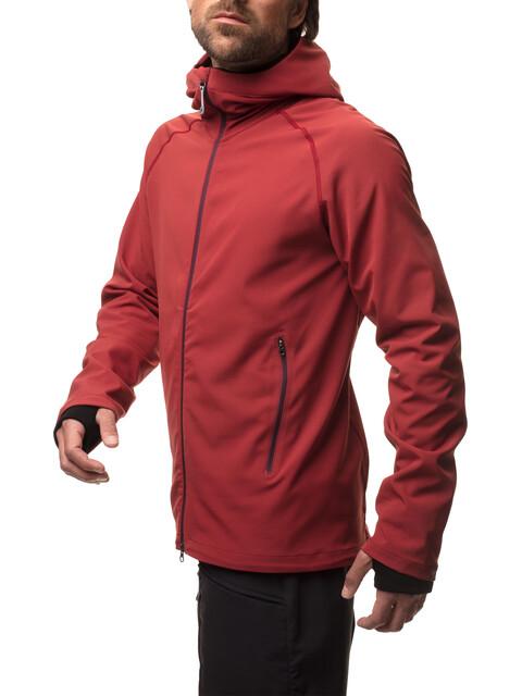 Houdini M's Motion Light Houdi Jacket hut red